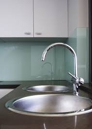 Grout Kitchen Backsplash by Glass Backsplash No Grout Use Starfire Glass To Eliminate Green