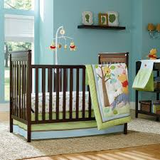 Baby Crib Decoration by Perfect Baby Nursery Room Using Turquoise Interior Design Feat