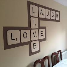live laugh love giant scrabble wall tiles by copperdot live laugh love giant scrabble wall tiles