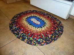 Cindy Crawford Rugs Wildberry Ranch Knotted Rag Rug Tutorial Revisited