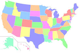 Map Of 50 States by New Map Shows Most Popular Jobs State By State Dreamhire Io