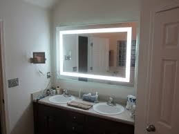 lights lighted makeup mirror wall mount battery operated mounted