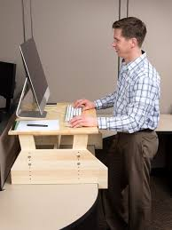 Stand Up Computer Desk Adjustable Stand Up Wooden Computer Desk Search Desk Pinterest