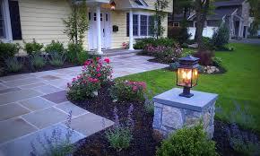 Front Yard Walkway Landscaping Ideas - long island landscape design design u0026 build landscape nassau