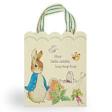 rabbit party rabbit friends paper party bags rabbit party party ark