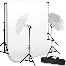 cheap umbrella lighting kit video umbrella lighting kit w white backdrop kit