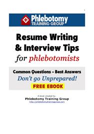 Sample Phlebotomist Resume Sample Simple Resume Resume Cv Cover Letter
