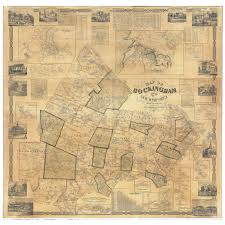 Nh County Map Map Of Rockingham County Nh 1857 Print Of Wall Map