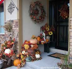 fall decorations for outside outdoor fall decorating ideas for your front porch and beyond