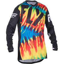 motocross gear fly racing 2017 le lite tie dye jersey mxstore picks riding