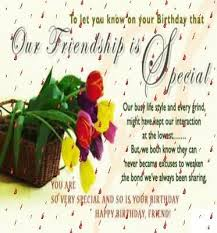 special e card birthday wishes for best friend nicewishes