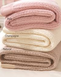 wool cellular blanket house bath