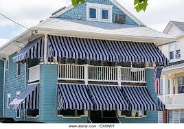 Awnings Usa Resort Homes Awnings Stock Photos U0026 Resort Homes Awnings Stock