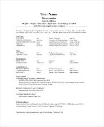 Free Copy And Paste Resume Templates Free Example Of Resume Resume Template And Professional Resume