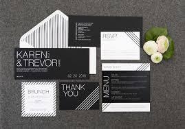 black and white striped wedding invitations black white stripes wedding suite invitation templates