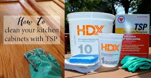 How To Clean Kitchen Cabinets How To Clean Your Kitchen Cabinets With Tsp U2014 Weekend Craft