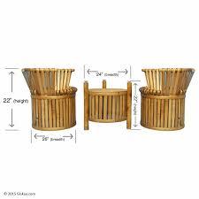 Coffee Table Set Buy Eco Friendly Bamboo Coffee Table Set Online Giskaa Com