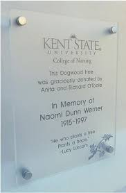 customized plaques with photo custom dedication recognition memorial and informative plaques