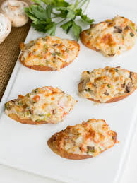 canape recipes crab canapés s dish