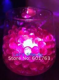 Submersible Led Light Centerpieces by Another Way To Do The Centerpiece Water Beads With Submersible