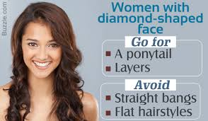 hairstyles for diamond shaped face attractive and riveting hairstyles for diamond shaped faces