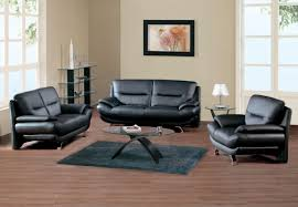 Living Room Black Leather Sofa Bedroom Elegant Dark Buffet Furniture With Zgallerie Furniture