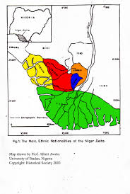 Map Of Nigerian States by Outline Geography Of Urhoboland In Nigeria U0027s Niger Delta