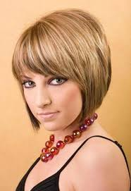simple design short hairstyles with bangs impressive cute short