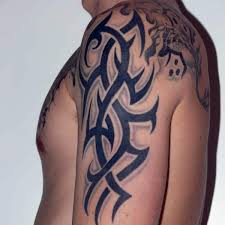26 exciting tribal tattoos for men on arm