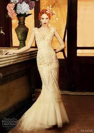 Champagne Wedding Dresses 15 Most Stunning Champagne Wedding Dresses