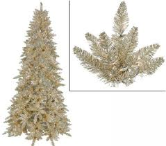 tinsel christmas tree vickerman 12 chagne spruce tinsel christmas tree with