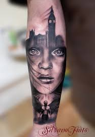 beautiful black and grey tattoo artist silvano fiato black and