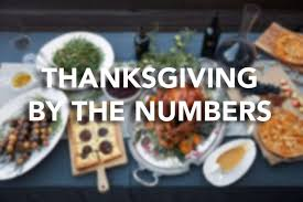 thanksgiving by the numbers connecticut post