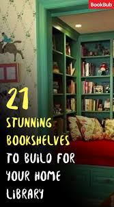 home library 21 awesome bookshelf ideas you need to see