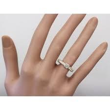 14k yellow gold asscher cut diamond engagement ring prong 2 90ctw