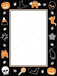 halloween frame u2014 stock vector mattasbestos 12818594