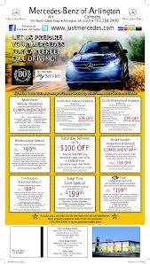 mercedes service offers mercedes of arlington auto service specials in arlington