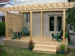 Flat Roof Pergola Plans by Best 25 Deck Pergola Ideas On Pinterest Deck With Pergola