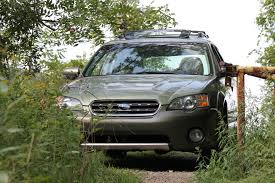 customized subaru outback where i should have stopped empty road chronicles