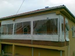 terrasse transparente dans mon jardin d hiver bâche transparente pour terrasse