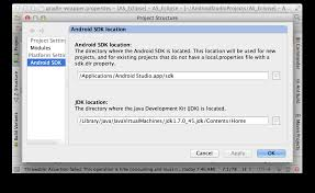 no android sdk found android studio stack overflow