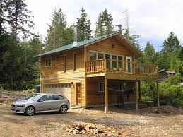 Small Home Construction Small House On Gabriola Island British Columbia