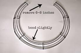 horseshoe wreath serendipity refined diy horseshoe shaped wheat fall