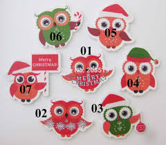 aliexpress com buy wbnwlw assorted owl pattern christmas buttons