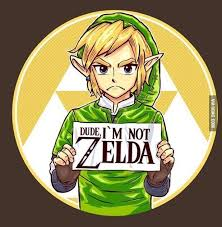 Link Meme - finally a picture to describe links feeling about being called