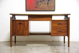 Modern Walnut Desk Mid Century Modern Walnut Desk Vintage Supply Store