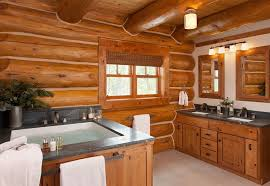 log home bathroom ideas charming rustic bathroom design ideas abpho