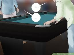 Pool Table Moving Cost by How To Buy A Pool Table 9 Steps With Pictures Wikihow