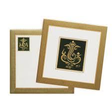Ganesh Chaturthi Invitation Card Green Designer Ganesha Invitation Card Knk3538 Youtube
