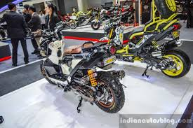 bentley zoomer honda zoomer x by sry shop on off road tyre at 2016 bims indian